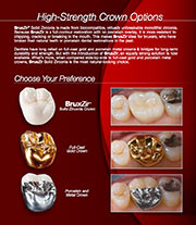 BruxZir Crowns & Bridges brochures